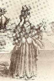 Mlle Maupin - estampe de Berey