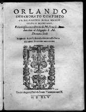 Orlando innamorato de Matteo Maria Boiardo