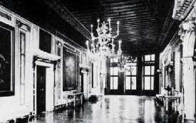Salon du Palazzo Mocenigo où fut créé le Combattimento