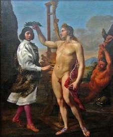 Pasqualini couronné par Apollon - Andrea Sacchi