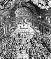 La salle du Petit Bourbon en 1614
