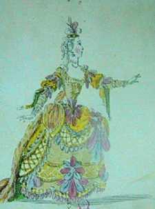 Costume de Phani par Louis-René Boquet