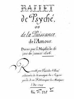 Manuscrit recueilli par Philidor L'Aîné