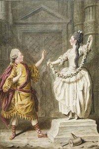 Pygmalion et la Statue - Carmontelle
