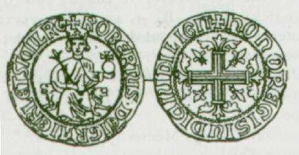 Robert d'Anjour- Carlin d'argent