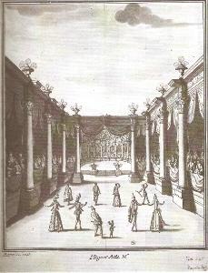 Ballet des Saisons - décor pour l'Hiver (- Atelier Bérain