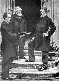 Charles Bordes, Alexandre Guilmant et Vincent d'Indy