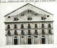 Teatro des Canos del Peral en 1788