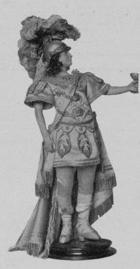 Poupée représentant Jélyotte en Thésée - 1744
