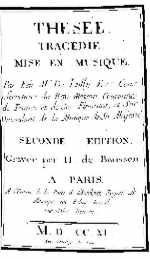 Thésée - édition Baussen