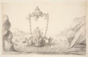 Thetis et Pelée - Thetis sur son char marin