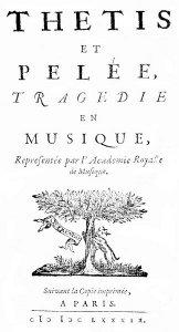 Thetis et Pelée - 1689