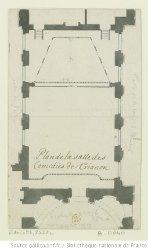 La salle des Comédies à Trianon en 1695