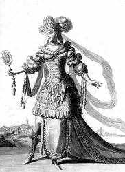 Costume indien de Bérain