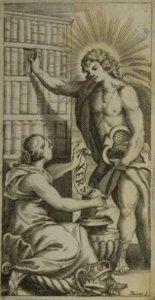 Xerse - gravure du livret de 1654