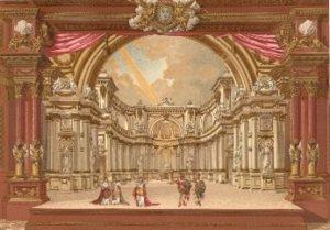 décor Versaille à l'opéra